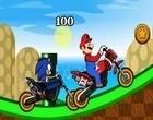 لعبة تحدي ماريو و سونيك