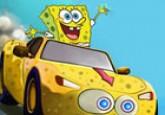 لعبة سيارة سبونج بوب
