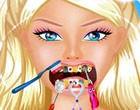 العاب تنظيف اسنان باربي