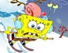 لعبة سبونج بوب تزلج